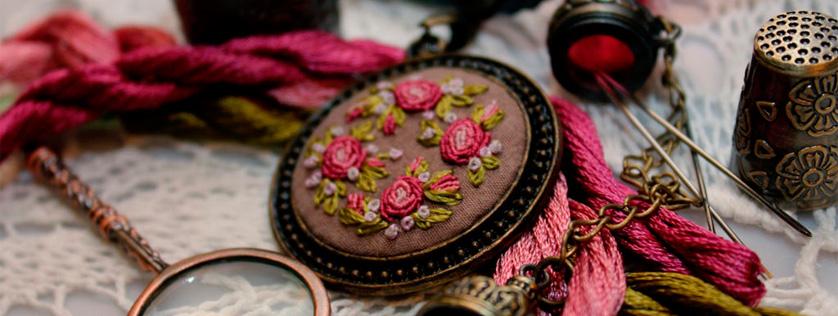 рококо вышивка