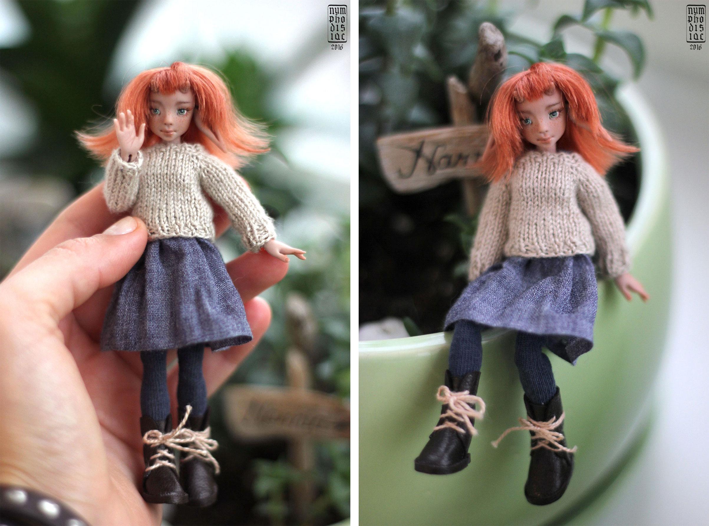 одежда куклы 12 см