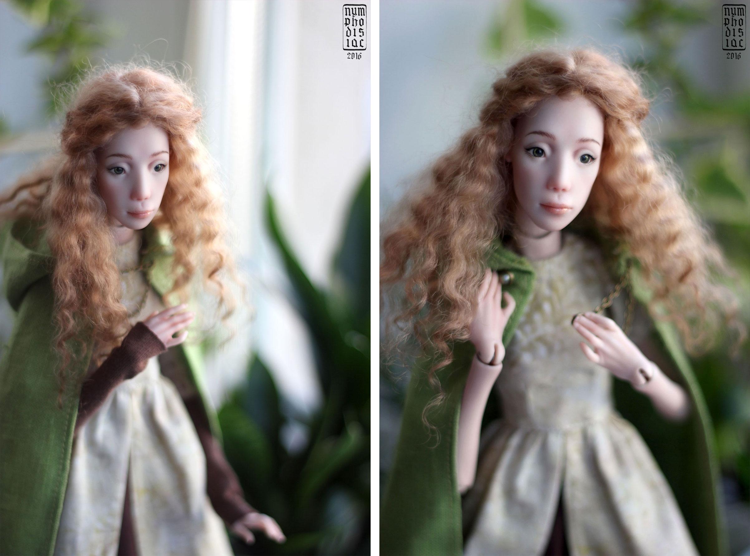 авторская бжд кукла Филиппа