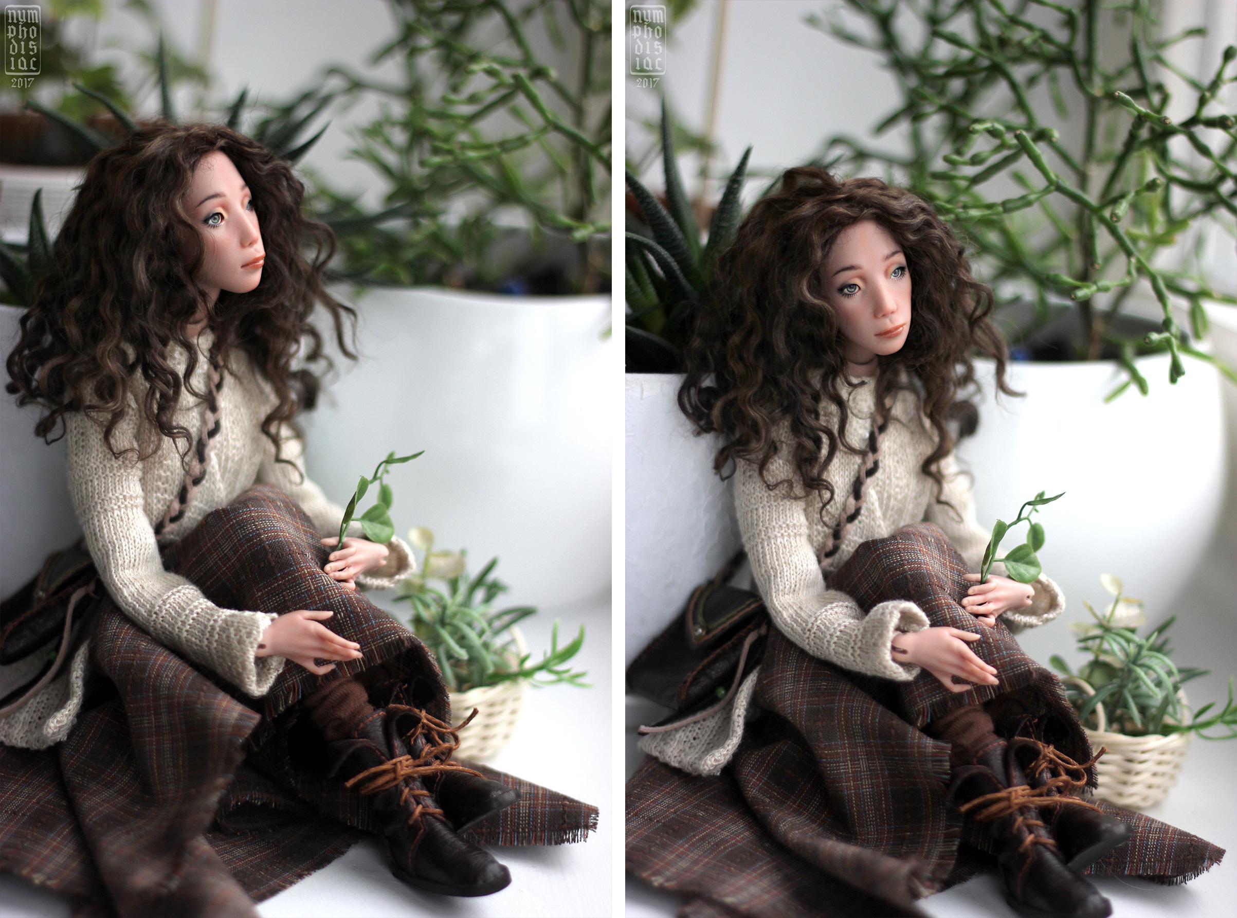 авторская бжд кукла